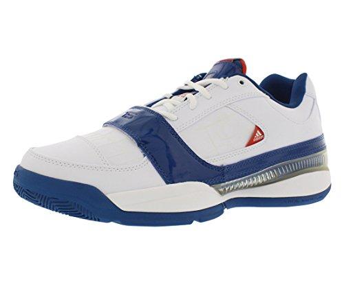 adidas Men's TS Lightswitch GIL Basketball Shoe,White/Blue/Orange,10 M