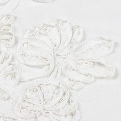 cotone sportivi Patchwork Floreale Mini Completi sciolto Cerimonia Bianca Casuale Biancheria donna Rawdah da Aderente Bohe Vestito Quotidiano gvqxzqw5n