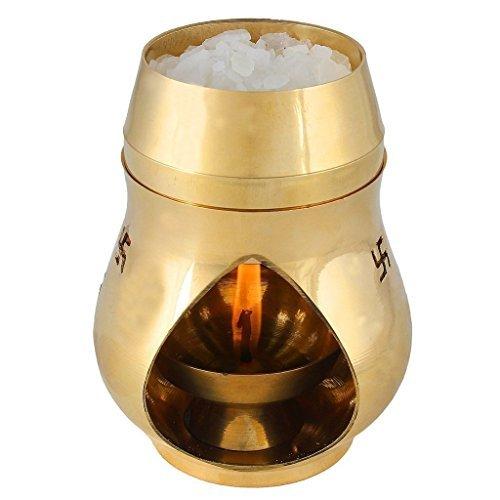 brass aroma burner - 1