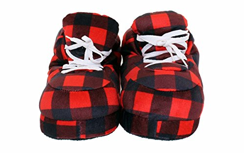 Heureux Pieds Hommes Et Femmes Pantoufles Sneaker Standard Hipster Plaid