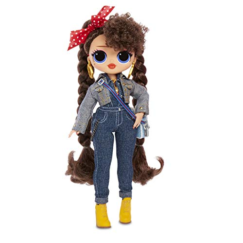 : L.O.L. Surprise! O.M.G. Busy B.B. Fashion Doll with 20 Surprises,Multicolor