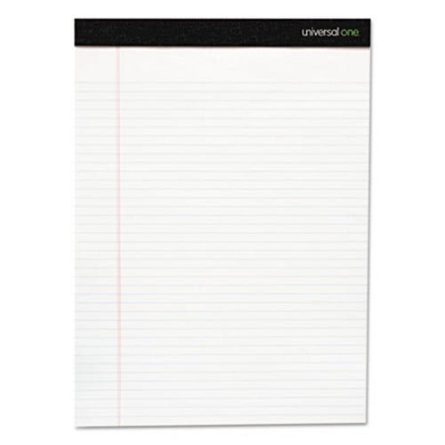 Premium Ruled Writing Pad, 8 1/2 x 11 3/4, Legal Rule, White, 50 Sheets, 12/Pack, Sold as 12 Pad ()