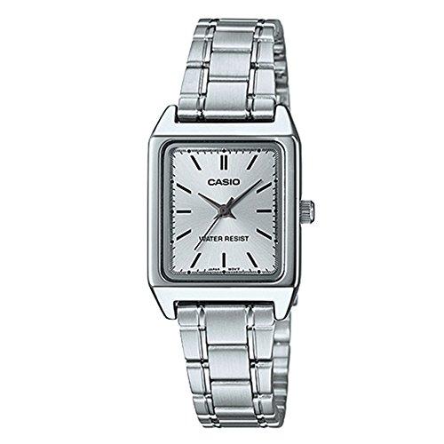 08b47ff92b5b Casio Reloj con Movimiento Cuarzo japonés Woman Ltp-V007D-7E 22.0 mm   Amazon.es  Relojes