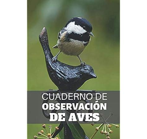 Cuaderno de Observación de Aves: Es un cuaderno con el que va a poder llevar un registro completo de sus avistamientos de aves | 125 páginas 15 x ... | Regalo original