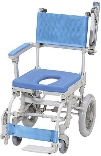 シャワースカールD(O型シート) SW6301  シャワーキャリー 入浴用車いす 浴室用車いす 車いす(浴室用) B079DNVCNQ