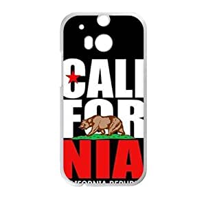 Happy california republic t shirt Phone Case for HTC One M8