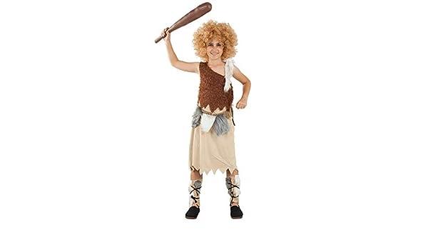 DISBACANAL Disfraz de Troglodita para niña - -, 6 años: Amazon.es ...