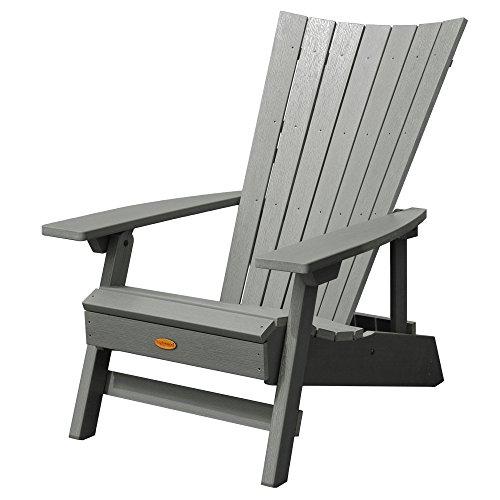 Highwood AD-ADRID29A-CGE Manhattan Beach Adirondack Chair, One Size, Coastal Teak