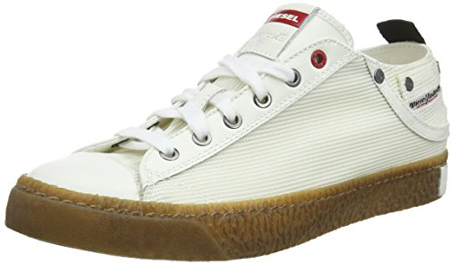 - Diesel Men's Magnete Exposure Low I-Sneakers, Star White, 8 M US