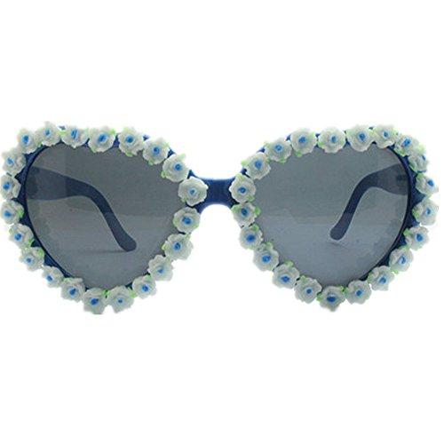 Sol señora en Diseño Las conducción de Forma la corazón Mano UV Gafas Playa la Flores Mujeres Ultra Beach Gafas de Hechas Summer Sol de a de de Vacaciones Ligero de de Protección de wp8nEIxqSa
