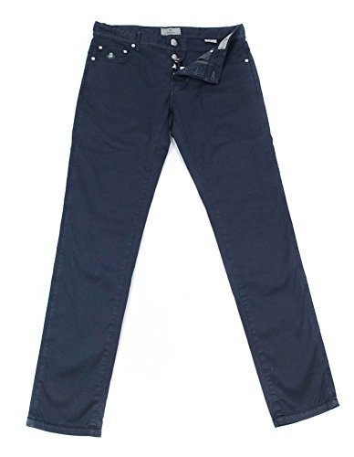 new-luigi-borrelli-navy-blue-solid-pants-super-slim-36-52