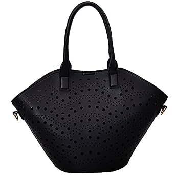 TOOGOO Summer New Korean Fashion Shoulder Bag Wild Messenger Messenger Portable Mother Bag Black