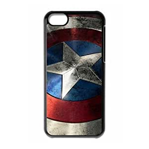 Captain America Black Hard For HTC One M9 Phone Case Cover