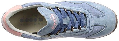 Diadora Blu W Heritage Ombroso per Equipe Donna HH 65068 SW Sneakers RqSWqPaz