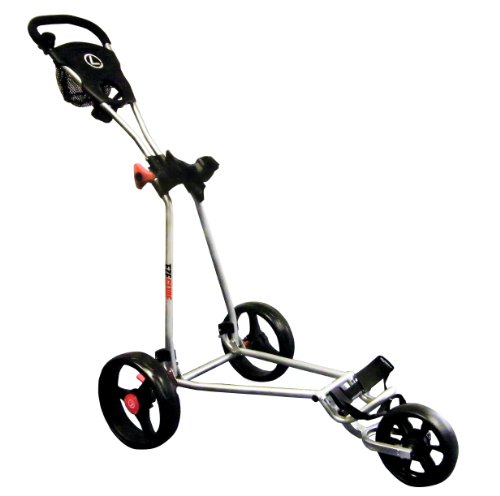 Longridge Uni Golf Trolley Eze Glide Cruiser, Silber