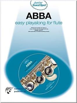 ABBA Easy Playalong for Flute - Flöte Noten [Musiknoten]