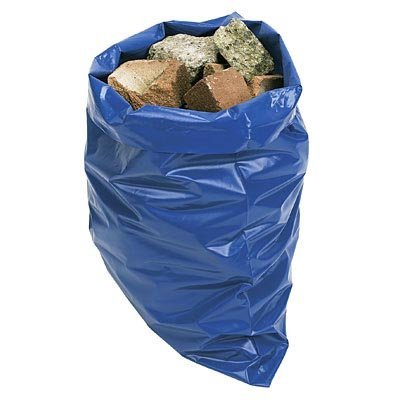 21 x Heavy Duty Blue Rubble Garden Refuse Waste Sacks by Tooltime