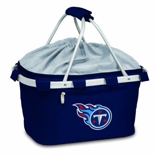 NFL Tennessee Titans Metro Insulated Basket, Navy For Sale