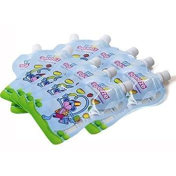 Fü llen Sie n Squeeze Nachfü llpackung wieder verwendbare Lebensmittel Beutel fü r Baby Entwö hnung & Kleinkind Lebensmittel Fill N Squeeze Fill' n Squeeze UK pouches
