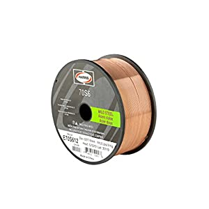 Harris E70S6E2 ER70S-6 MS Spool with Welding Wire, 0.030 lb. x 2 lb.