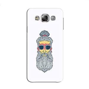 Cover It Up - Hipster Yogi Galaxy E7 Hard Case