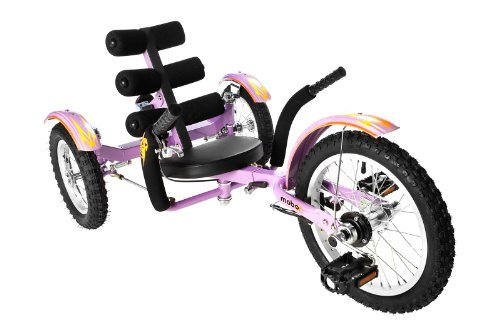Mobo Mobito (Purple) Ultimate Three Wheeled Cruiser by Mobo
