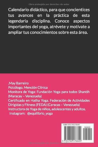 Mi año de Yoga: Calendario 2019: Amazon.es: MAY BARREIRO: Libros