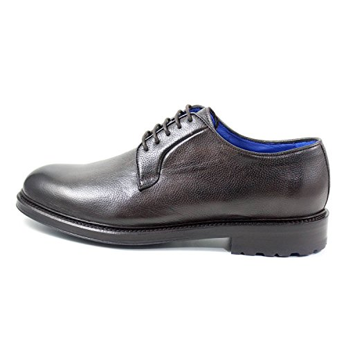 Giorgio Rea Herenschoenen Elegante Derby Brogue Heren Lace Up Brogues Bruin