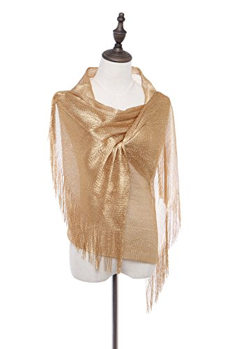 [Evening Formal Shawl and Wrap, 1920s Flapper Wedding Sparkle Piano Scarf for Women] (20s Outfit)