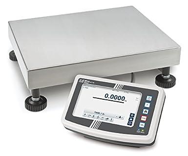 Balanza de plataforma Easy-Touch  Kern IFT 100K-2LM  La forma más ... b6d65603e8a3e