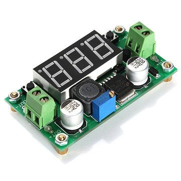 Dc Voltage Regulator - Power Voltage Regulator - 4V-40V DC-DC Step Down LM2596 Voltage Regulator Converter Module (Step-Down Voltage Regulator) Unknown