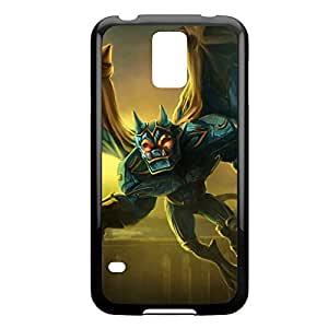 Galio-001 League of Legends LoL case cover Samsung Galxy S4 I9500/I9502 - Plastic Black