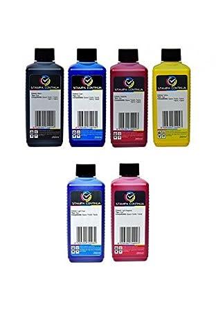 1,5 l de tinta de alta calidad InkTec NEGRO, Cyan, Magenta ...