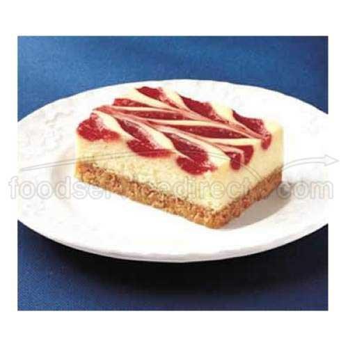 Sara Lee Cheesecake - Sara Lee Bistro Collection Strawberry Swirl Cheesecake Bar, 52 Ounce - 4 per case.