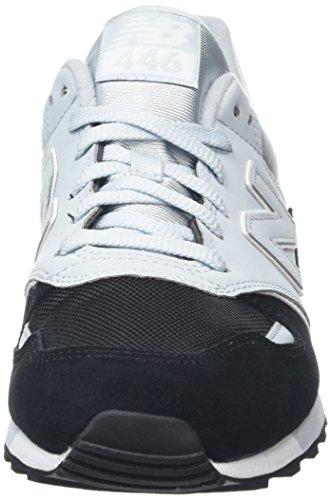 Nuovo Equilibrio Unisex U446 Sneaker Adulto, Nero (nero / Blu / U446kbw)