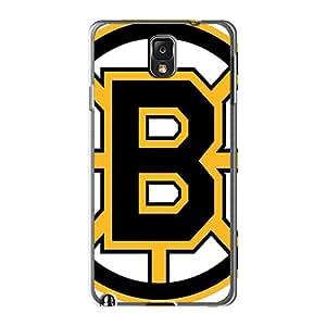 Shock Absorbent Hard Phone Case For Samsung Galaxy Note 3 (hdG5049cYCT) Unique Design Vivid Boston Bruins Skin