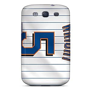 Fashion Tpu Case For Galaxy S3- New York Mets Defender Case Cover