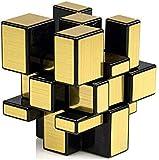 Kids Dukaan 3*3*3 Golden Puzzle mirroring Magical Cube