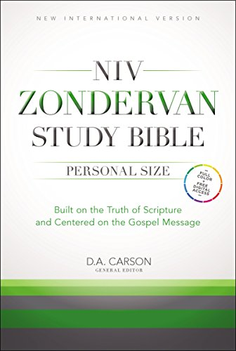 NIV Zondervan Study Bible, Personal Size, Hardcover