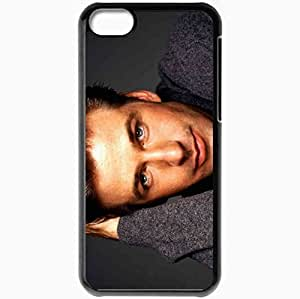 Personalized iPhone 5C Cell phone Case/Cover Skin Alec baldwin actor face actors Black by supermalls