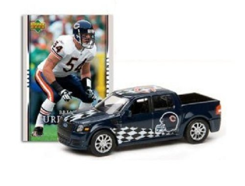Chicago Bears - Brian Urlacher 2007 Upper Deck Collectibles NFL Ford SVT Adrenalin Concept with Card