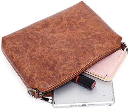 女性3ピースセットヴィンテージフェイクレザーハンドバッグショルダーバッグ財布 YZUEYT
