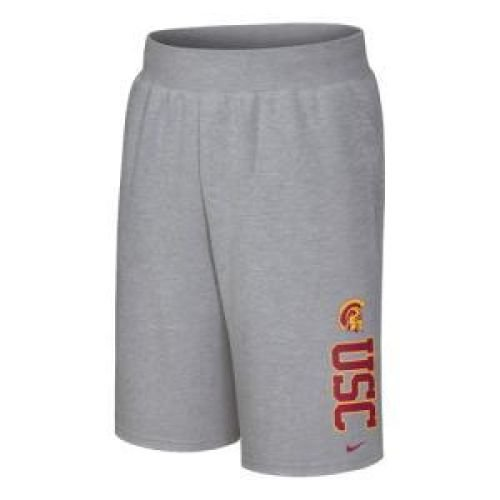 Usc Trojans Shorts - Usc Trojans Printed Fleece Short - Men - S
