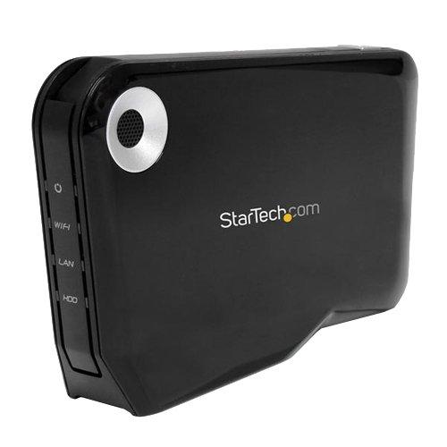 StarTech Storage S2510U2WF Wireless-N 2.5inch External SATA HDD Enclosure with USB and WiFi, Best Gadgets