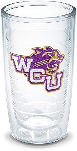 Tervis Western Carolina University Emblem Individual Tumbler, 16 oz, Clear