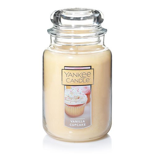 Yankee Candle Large Jar Candle, Vanilla (Large Cake Candle)