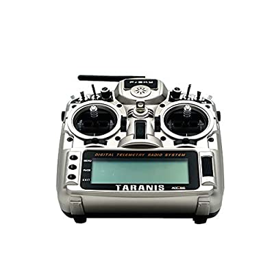 FrSky Taranis X9D Plus 2020 ACCST D16 /Access Telemetry Radio Open TX for FPV (Silver): Toys & Games