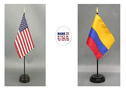 Made in The USA. 1 American and 1 Colombian Rayon 4