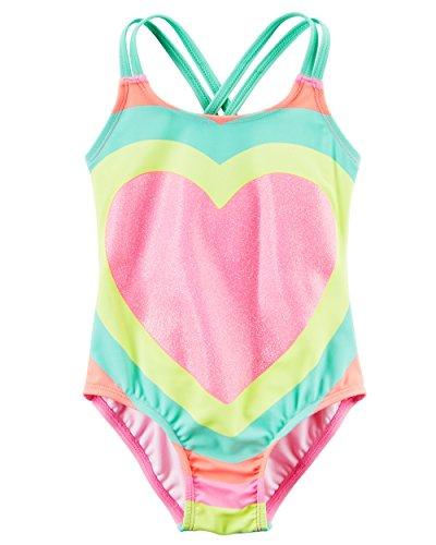 Girls 1 Piece Swimsuit - 4