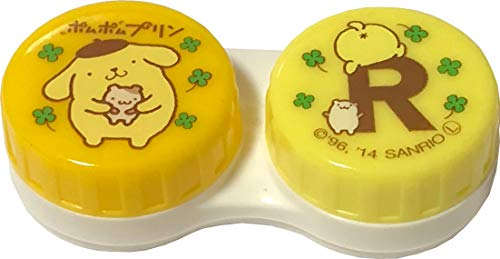 (Sanrio pomupomupurin Contactlens Case with Zip Bag for Soft Lenses)